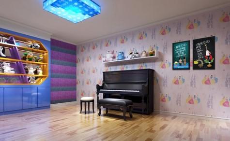 琴行装修效果图 - 海伦钢琴教室